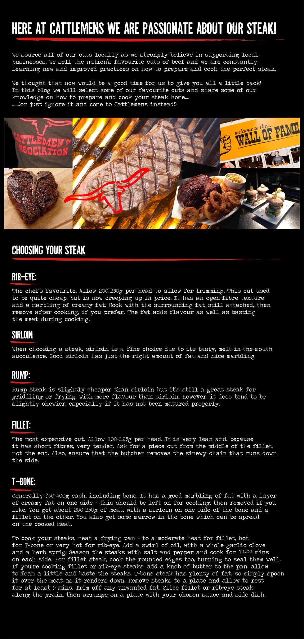 Steak blog